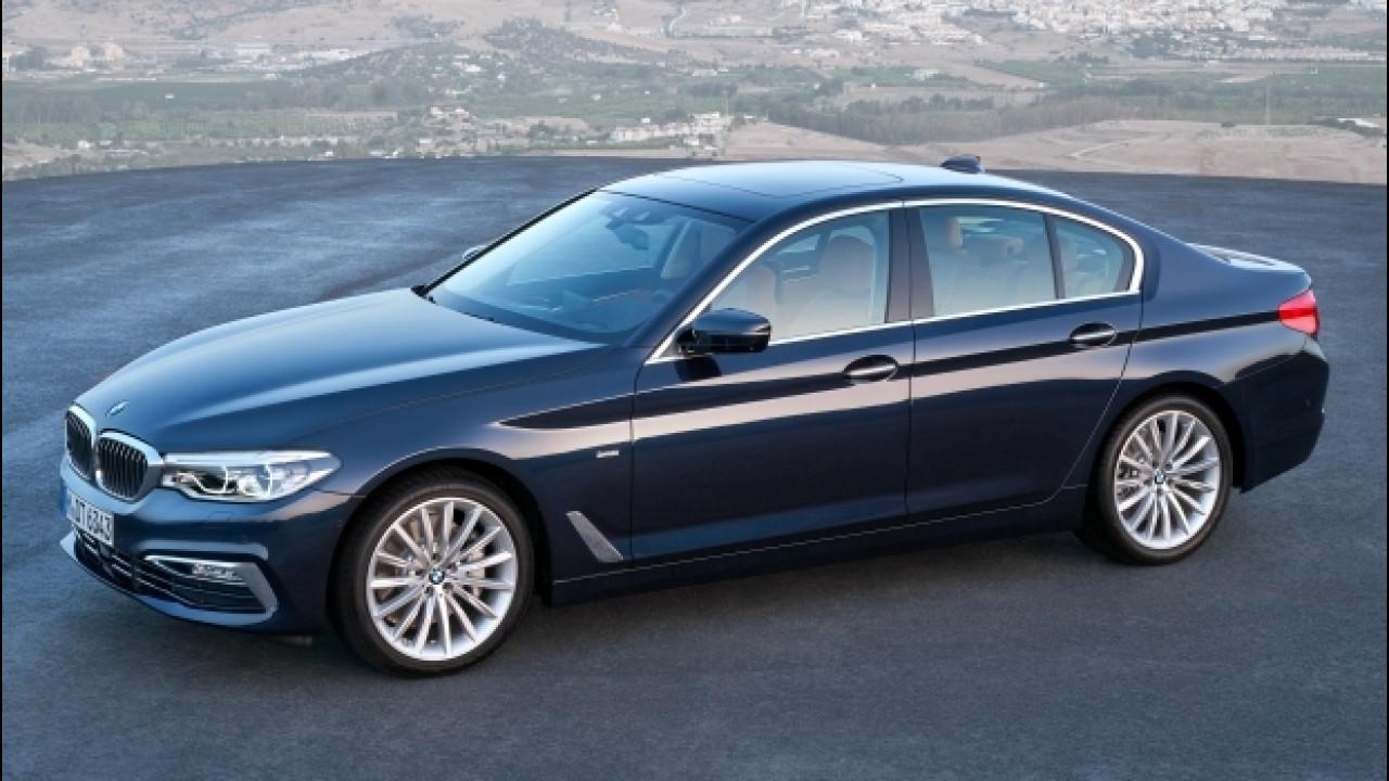 [Copertina] - Nuova BMW Serie 5, prezzi da 50.800 euro