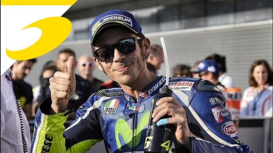 """Moto GP, Velentino Rossi: """"Questo podio è buon modo per ricordare il Sic"""""""