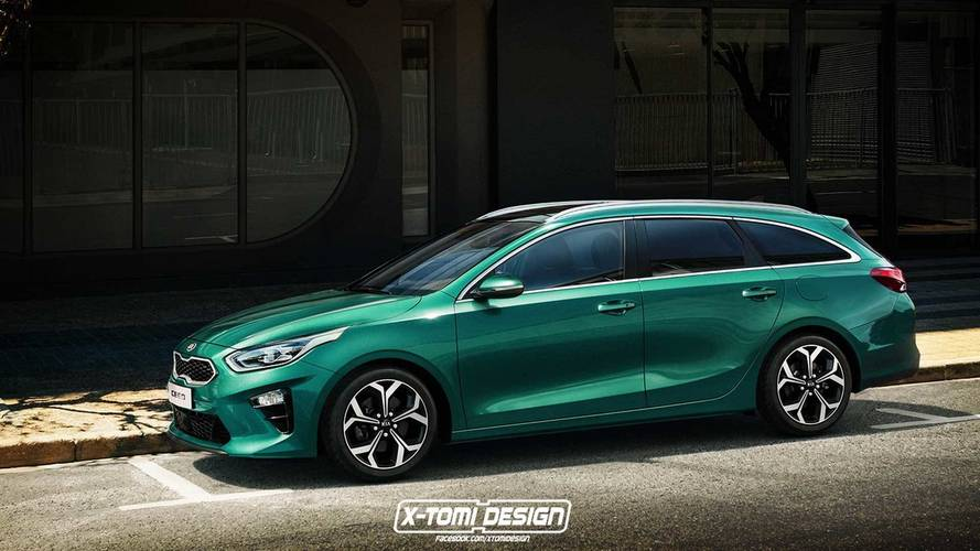 Kia Ceed Wagon y Fastback 2018 recreaciones