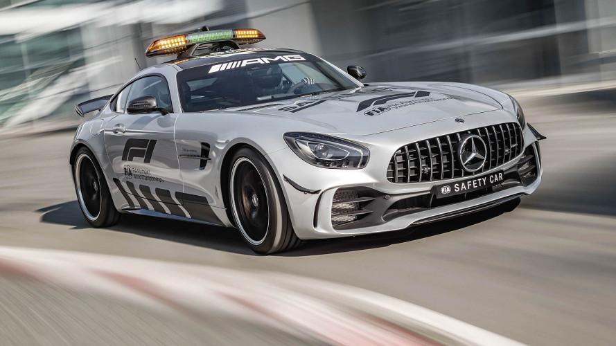 Ein Mercedes-AMG GT für die Formel 1