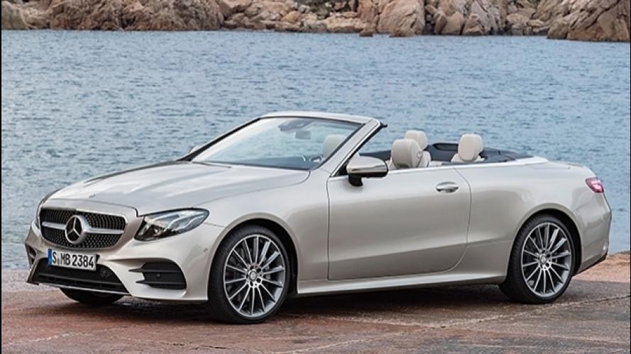 [Copertina] - Nuova Mercedes Classe E Cabrio, lusso e tecnologia sotto il cielo
