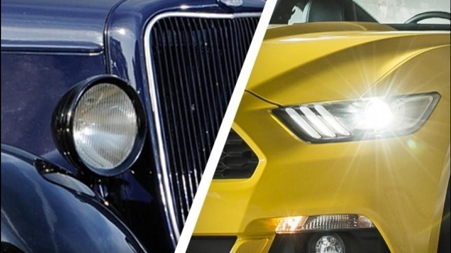 Dal gas al LED, Ford mostra l'evoluzione dei fari in 100 anni
