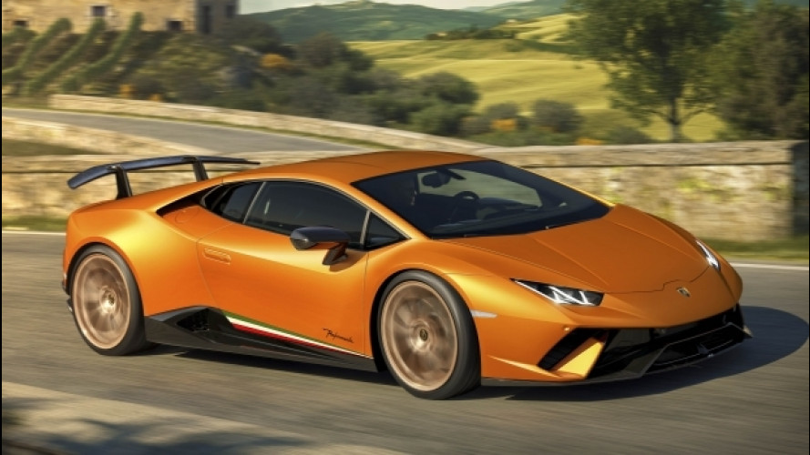 Lamborghini Huracán Performante, nata per la pista [VIDEO]