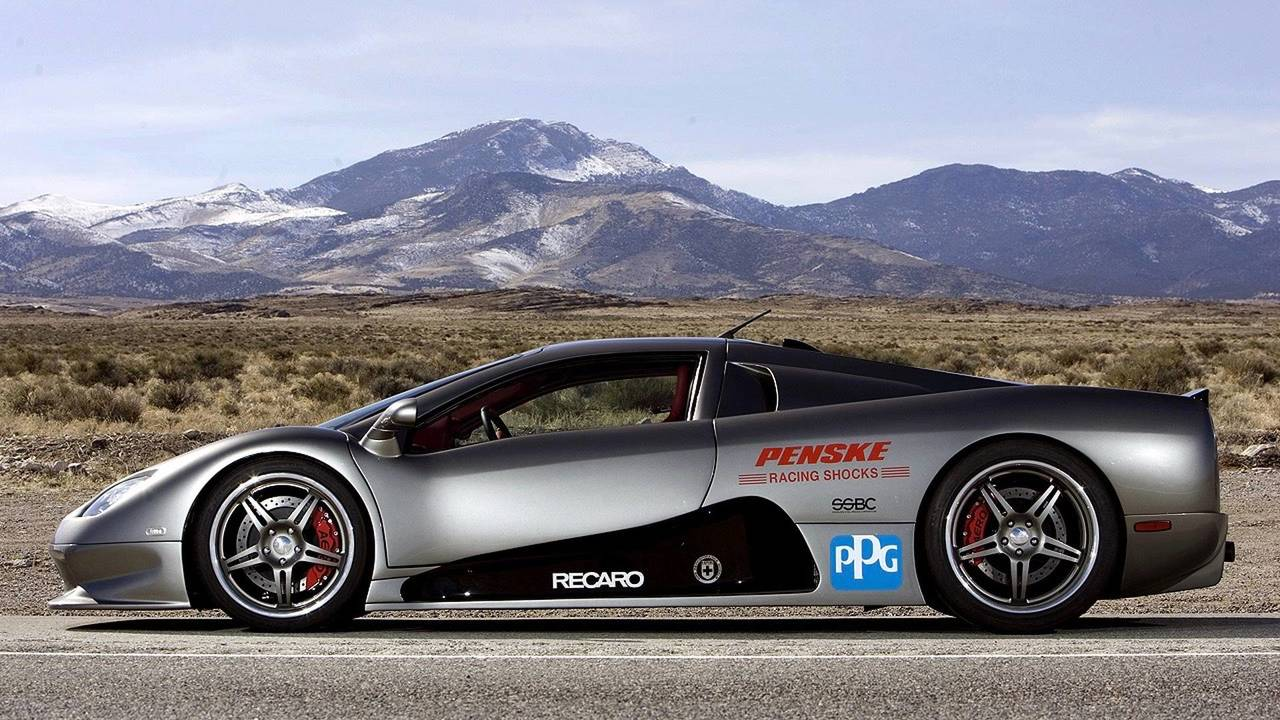 SSC Ultimate Aero - 256.1 mph