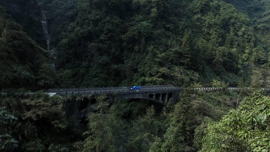 Range Rover Sport SVR - Tianmen Road Rekord