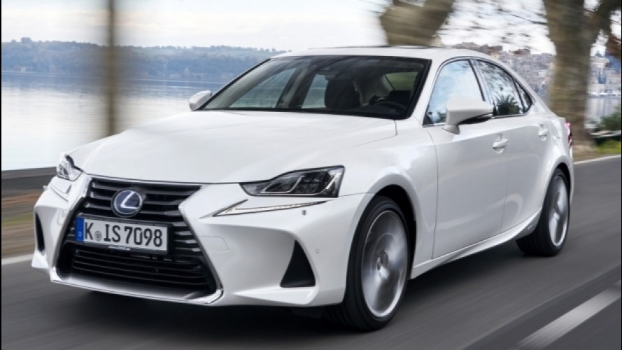 Lexus IS restyling, è sempre un piacere
