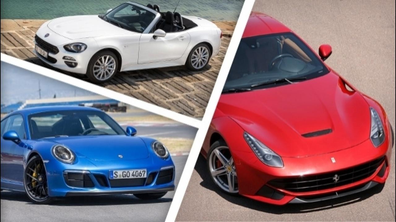 [Copertina] - Supercar, sportive e auto di lusso, ecco le più vendute
