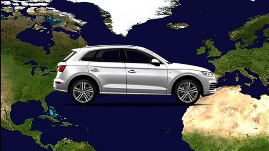 """Dove """"nascono"""" le auto europee per gli USA"""