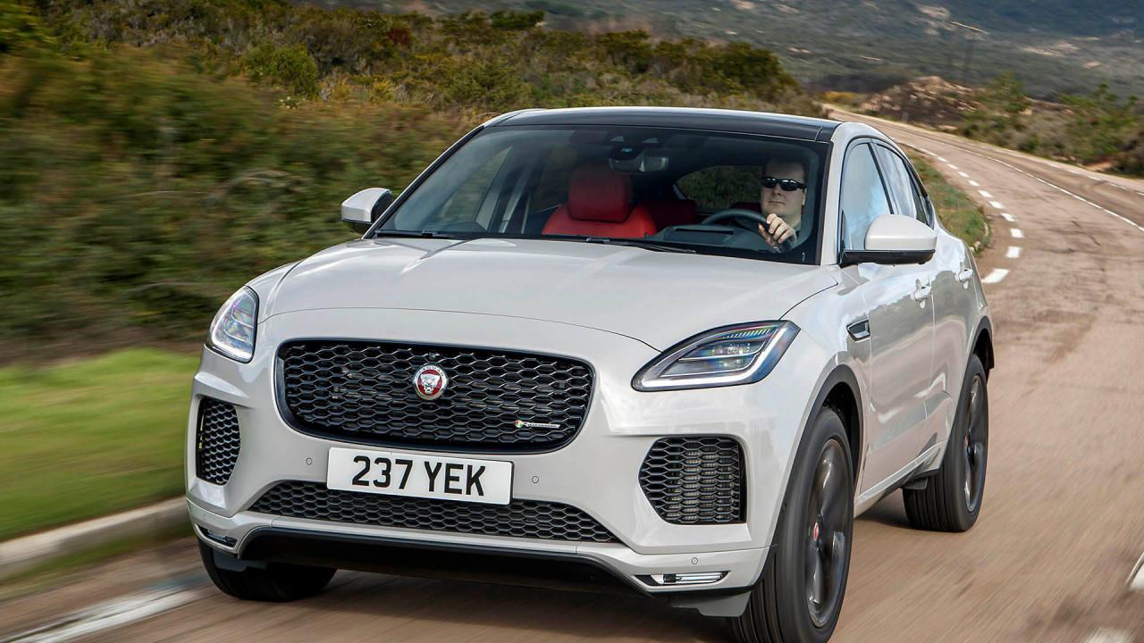 Range Rover Evoque und Jaguar E-Pace