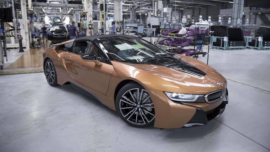 BMW Hits The Start Button On i8 Roadster Production