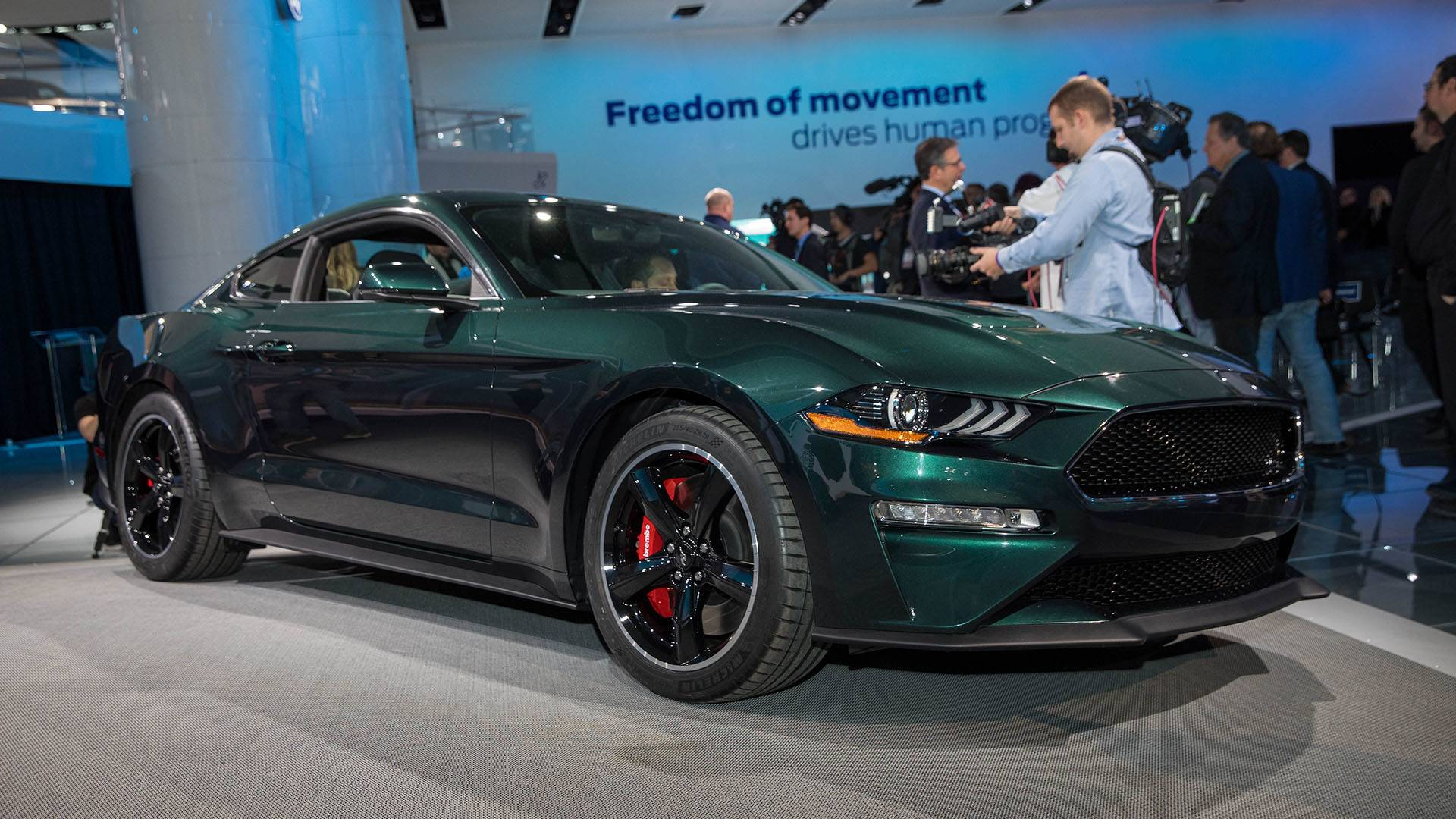 Very first 2019 ford mustang bullitt grabs 300000 at auction