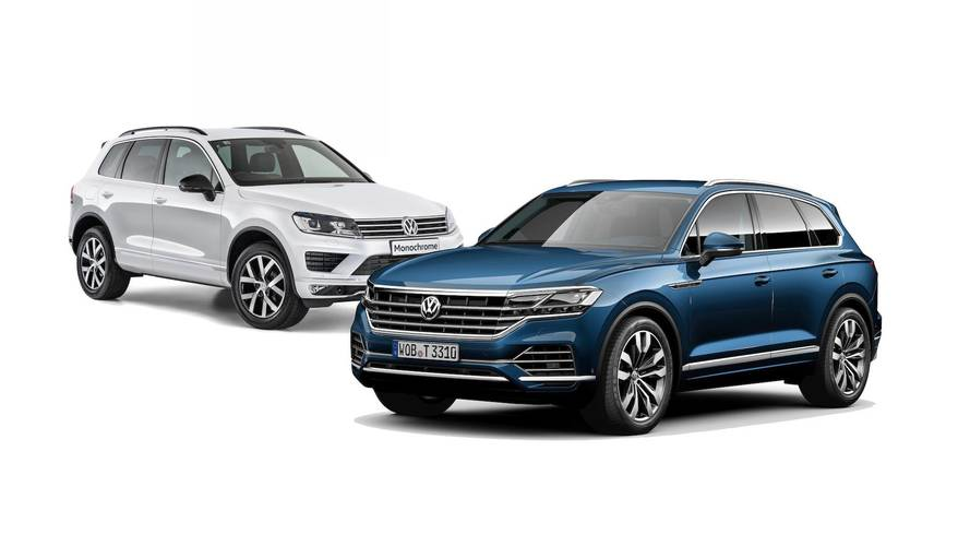 2019 VW Touareg Side By Side Lead