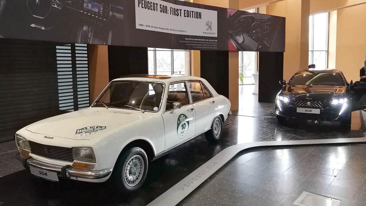 Techno Classica 2018: 50 Jahre Peugeot 504