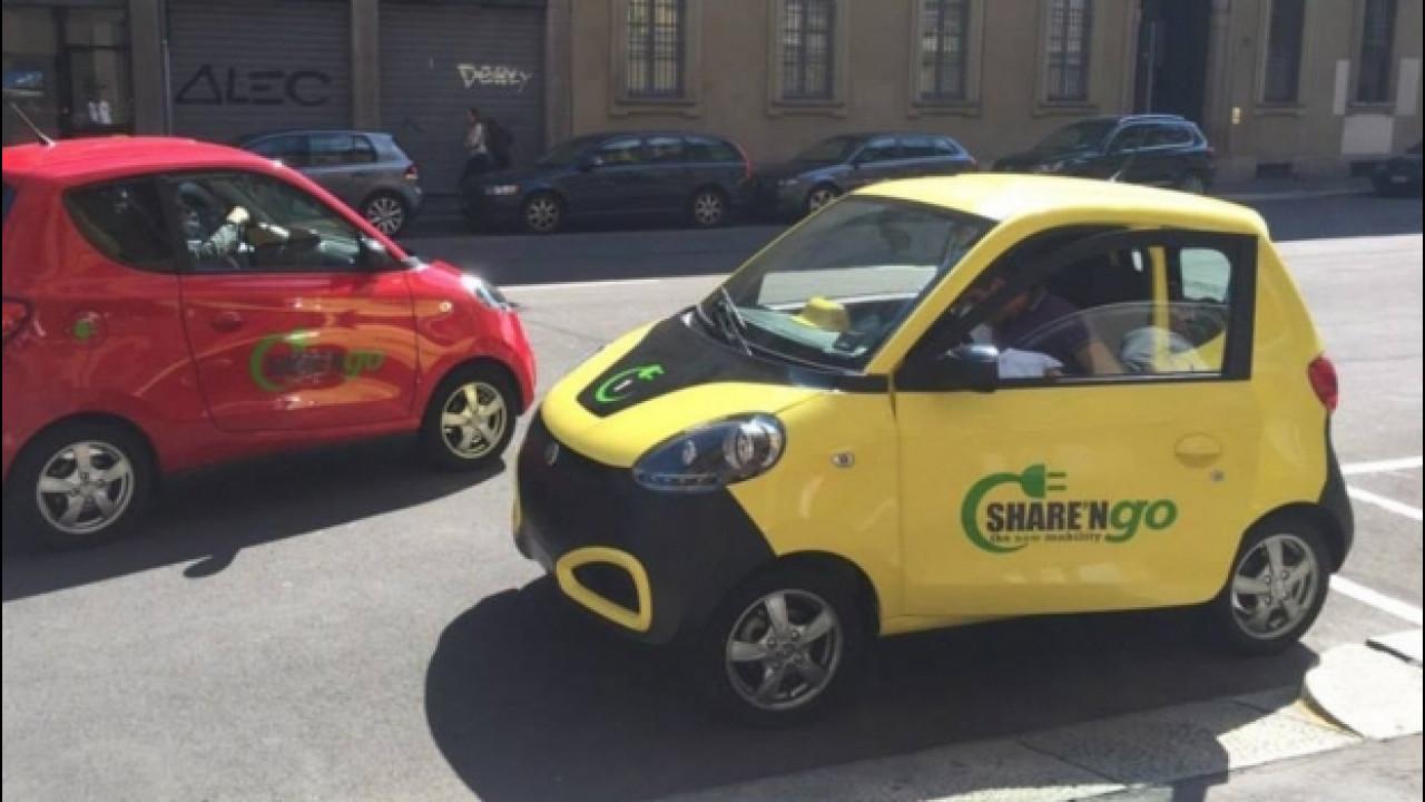 [Copertina] - Share'ngo a Roma, le auto elettriche diventano 400