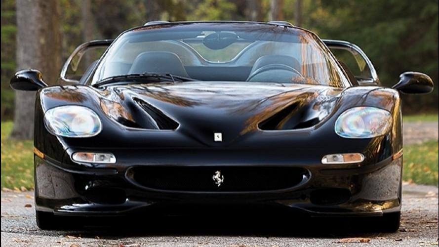 Ferrari F50, una nera vale 3 milioni di euro