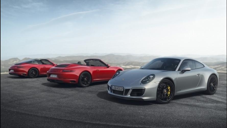 Porsche 911 GTS, al Salone di Detroit col turbo