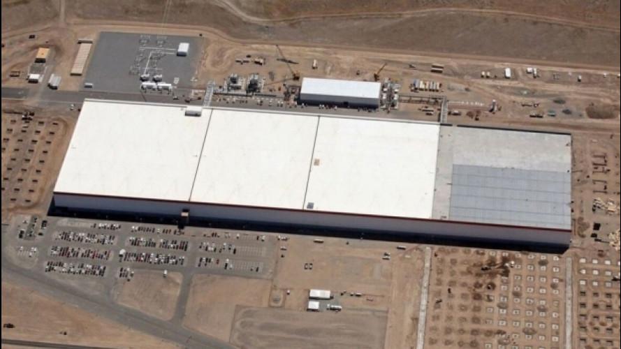Tesla, al via la produzione di batterie nella Gigafactory