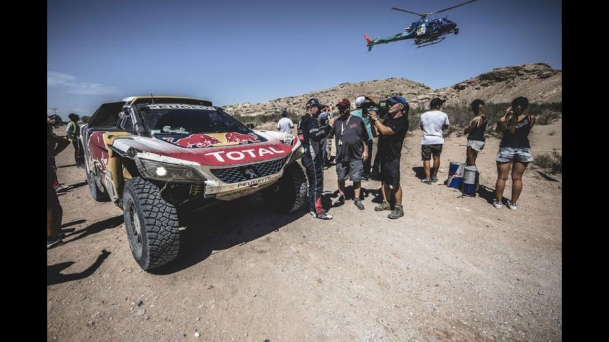 Dakar 2017, a Loeb la tappa ma il re è Peterhansel