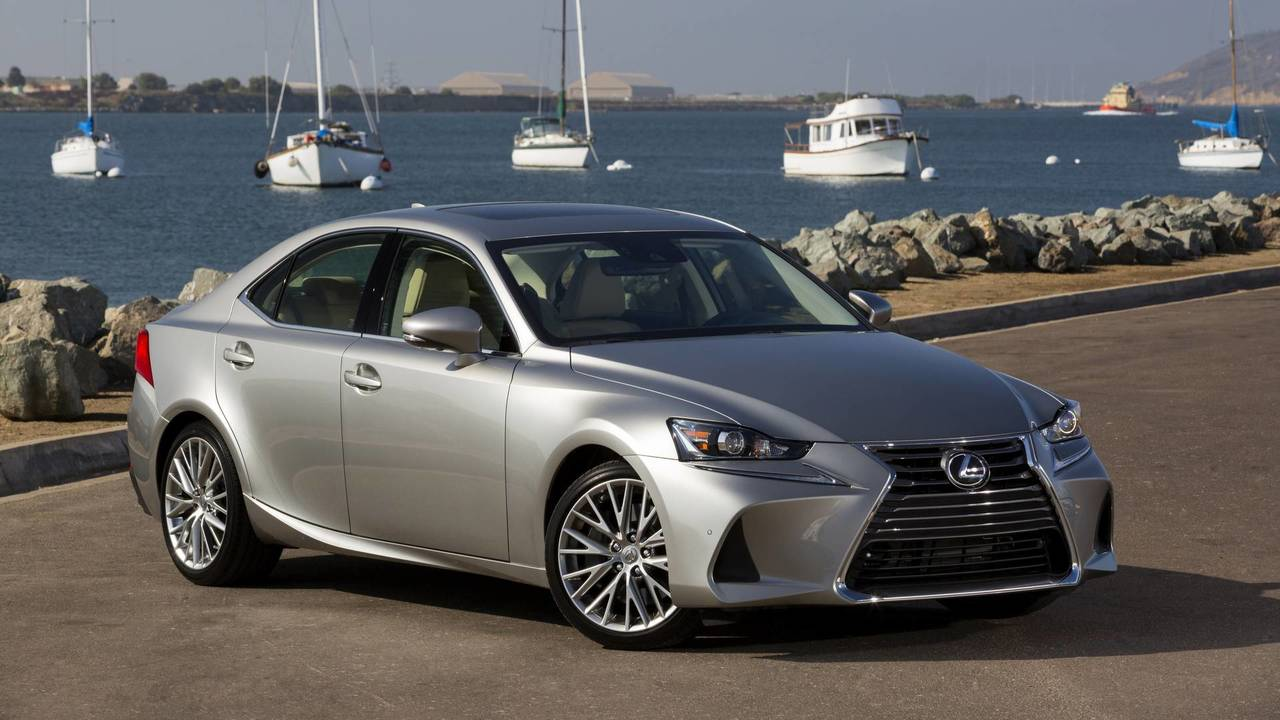 9. Luxury Midsize Sedan: Lexus IS 200t.