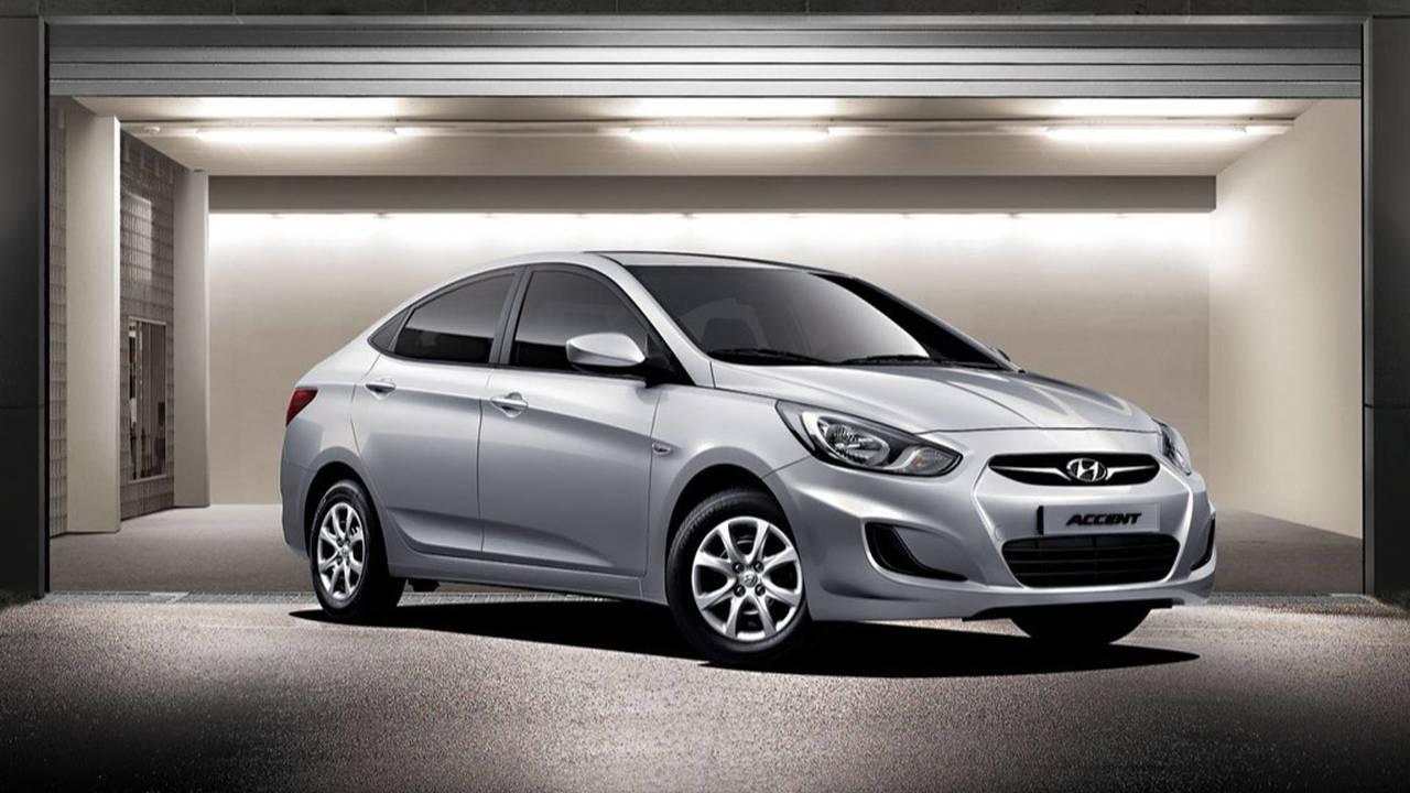 2010-2016 Hyundai Accent Blue