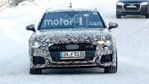 Audi S6 Avant Spy Photos
