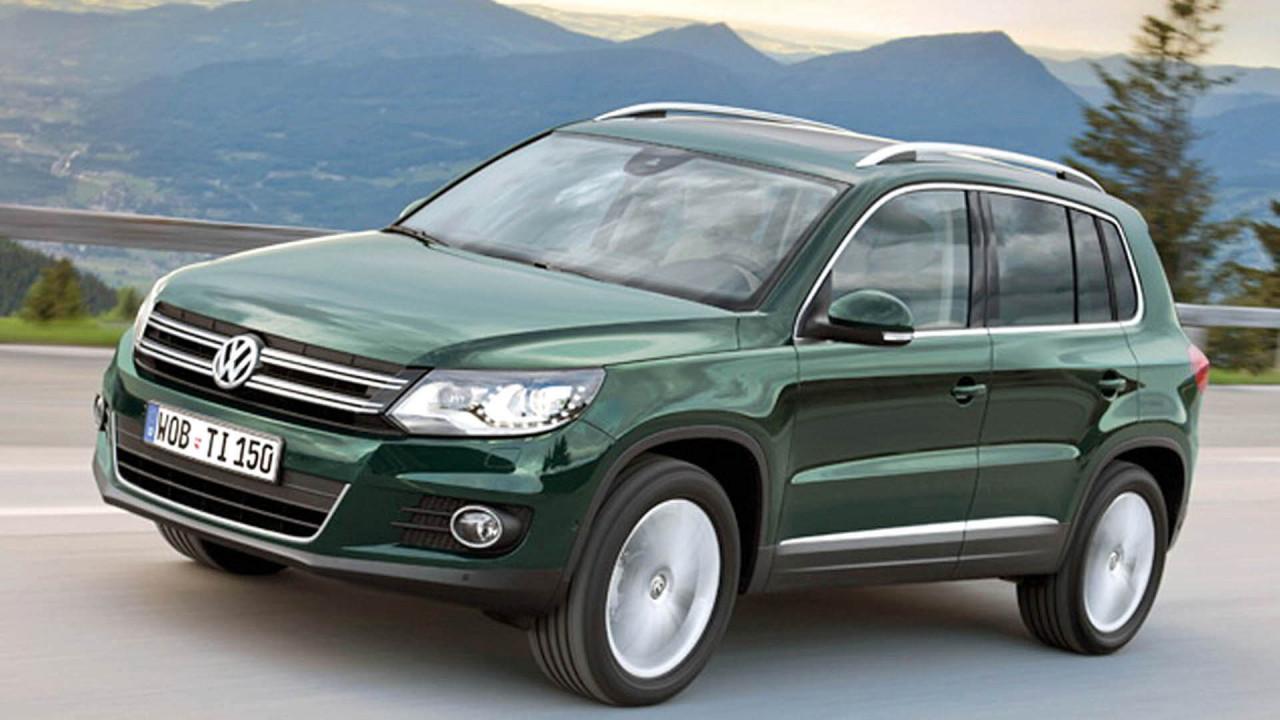 Platz 1: VW Tiguan