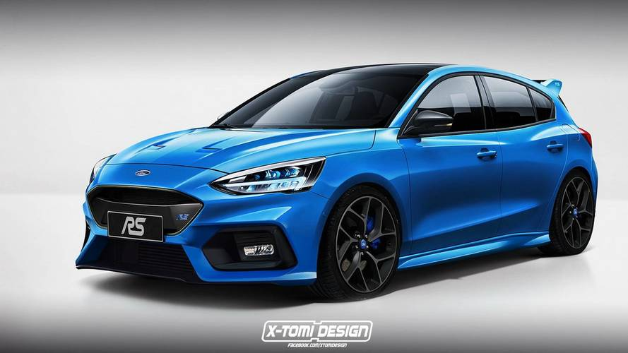 Focus St 2018 >> Of Course Someone Has Already Rendered The New Ford Focus St Rs
