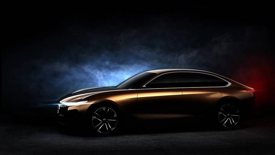 Pininfarina H500 Sedan Teased Ahead Of Beijing Show
