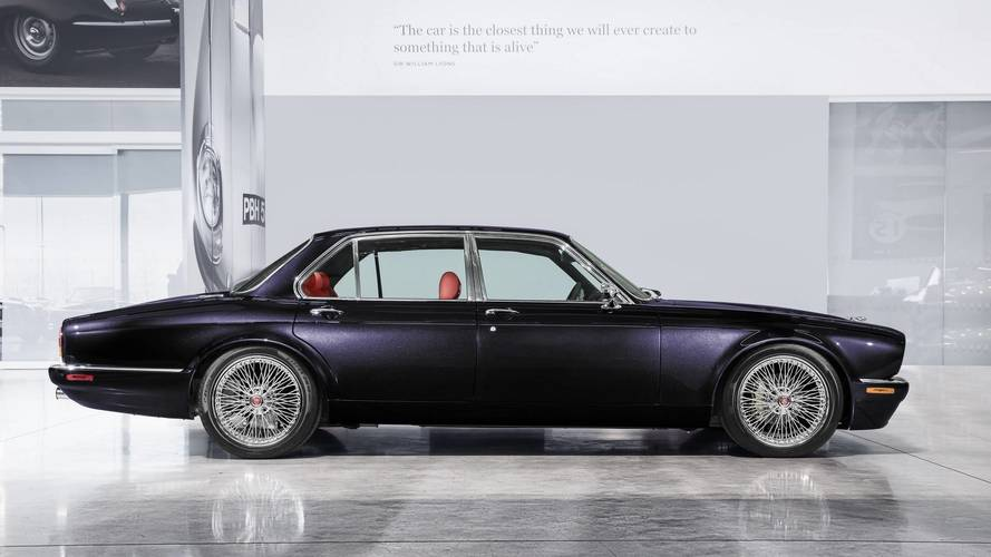 Iron Maiden's Drummer Rocks Geneva With Classy Jaguar XJ6