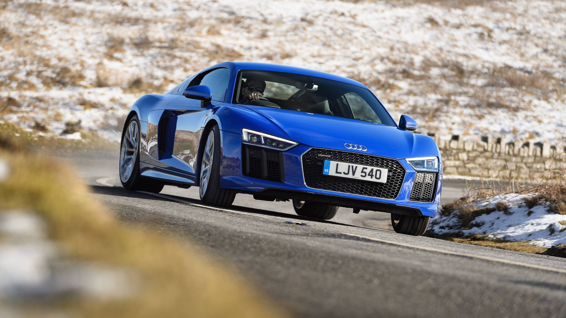 2018 Audi R8 V10 Rws First Drive Fire Up The Not A Quattro