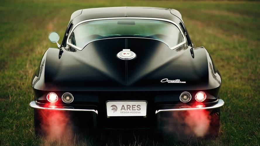 Corvette Stingray reimagined by Ares Design