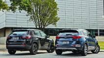 Comparativo Kia Sportage x Jeep Compass