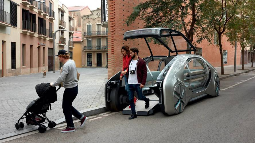 Renault EZ-GO konsepti hem otomobil hem servis aracı