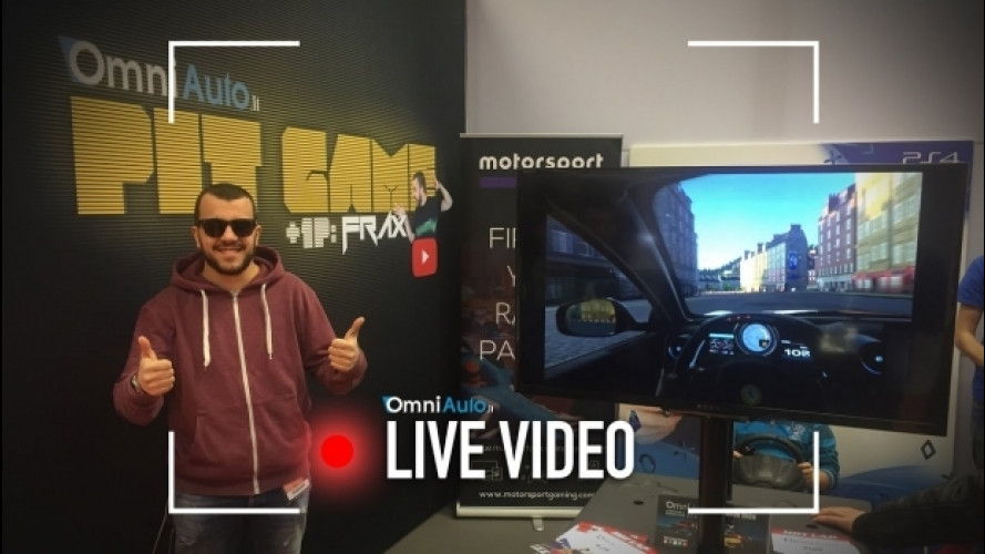 Provate la Sony Playstation VR al Motor Show [VIDEO]