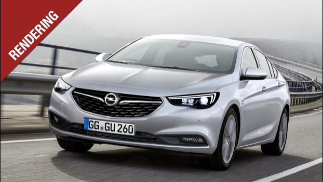 [Copertina] - Nuova Opel Insignia, avrà forme da coupé