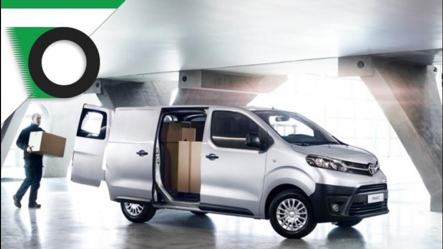 Toyota lancia in Italia il nuovo Proace