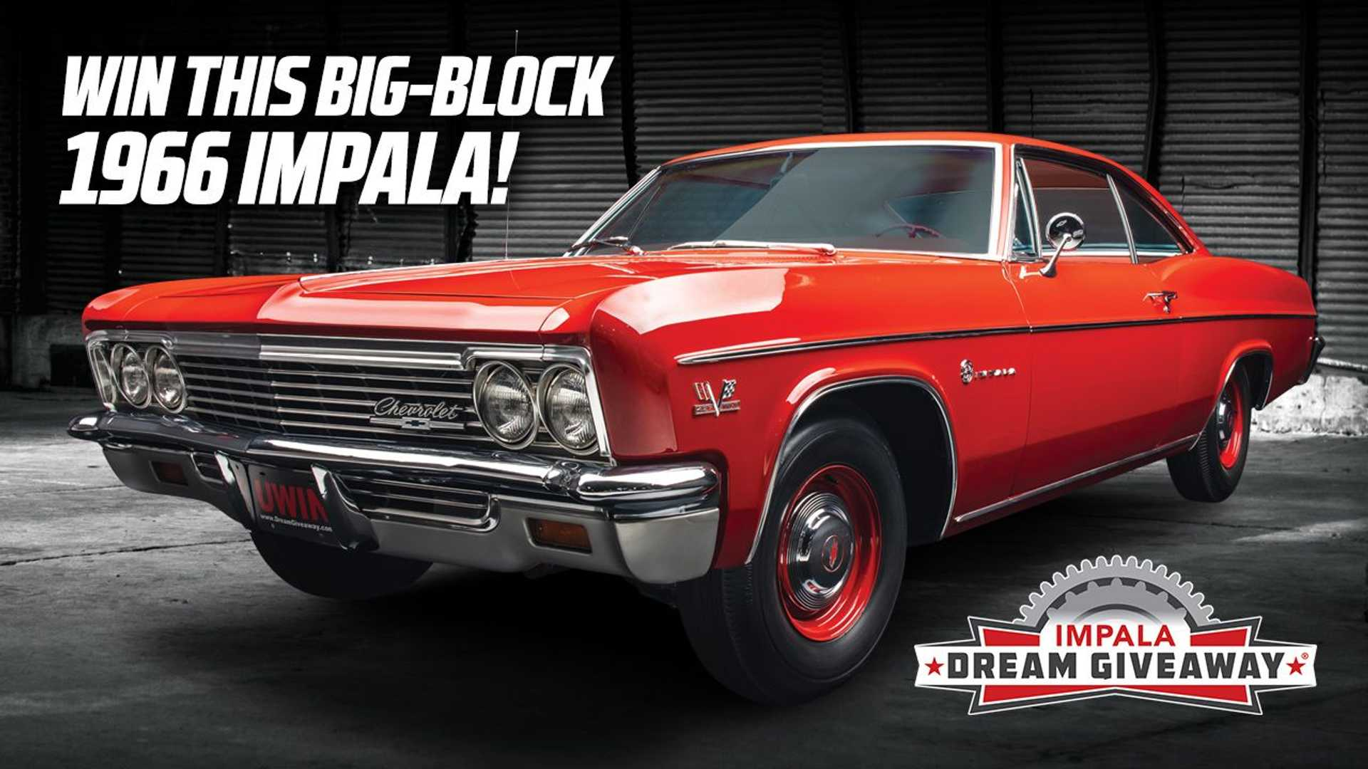 Enter Now To Win Amazing 1966 Chevy Impala Sport Coupe Plus 10 000 Cash