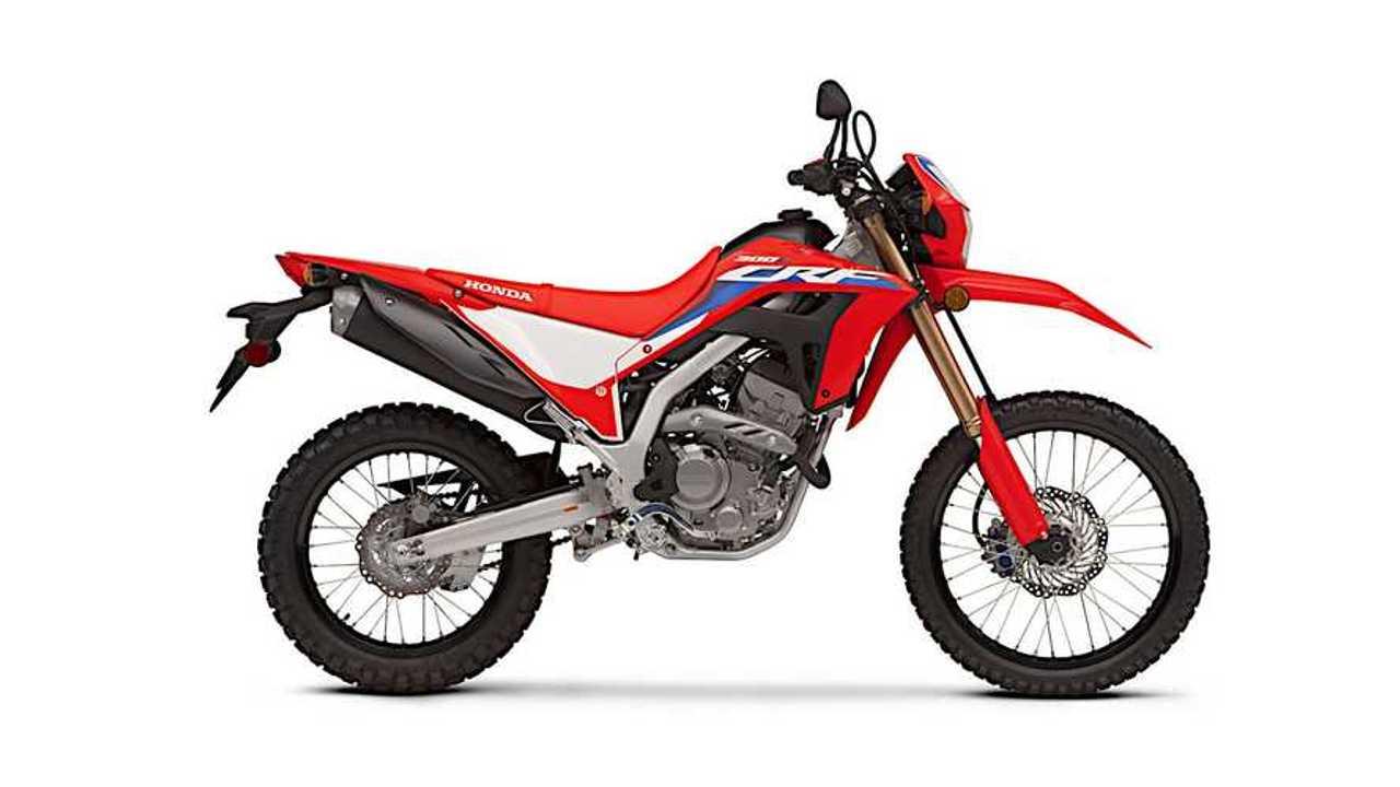 2021 Honda CRF300L Right Side