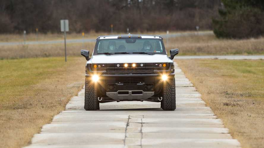GM впервые построила работающий прототип электромобиля Hummer