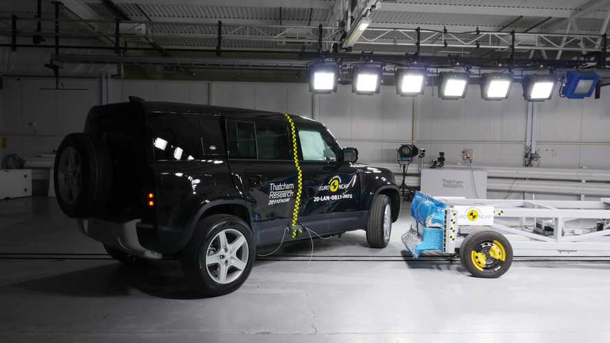 A3, Sorento and Defender cruise to five-star crash test scores