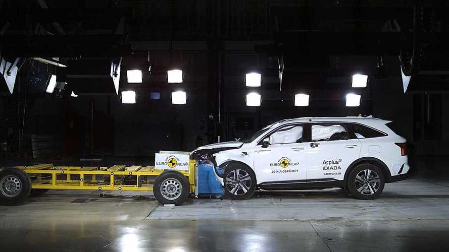 Euro NCAP crash & safety tests of  Kia Sorento (2020)