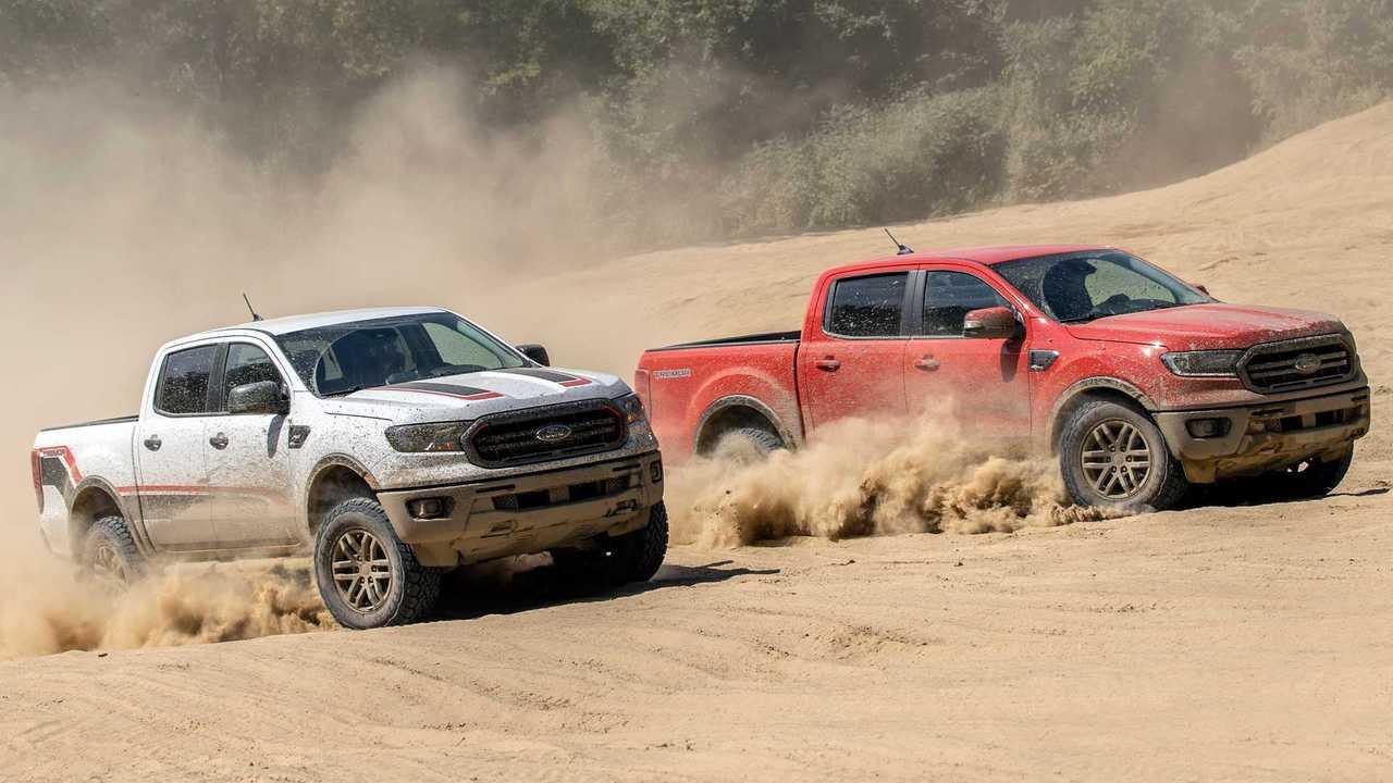 Ford Ranger Tremor XLT и Lariat (2020)