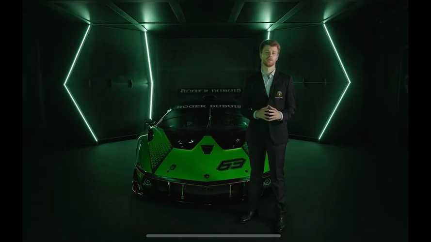 Lamborghini Dissects The Essenza SCV12 Track Car