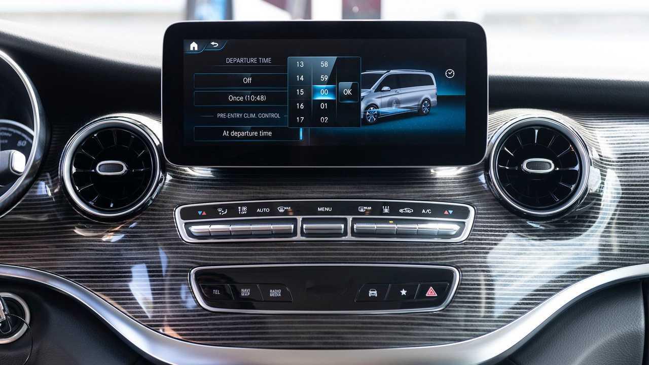 Mercedes-Benz EQV (2020) in test