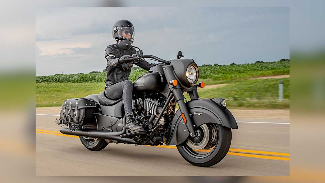 2021 Indian Vintage Dark Horse On Road