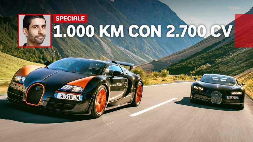 Chiron e Veyron, le abbiamo guidate per 1.000 km: e la prossima Bugatti?