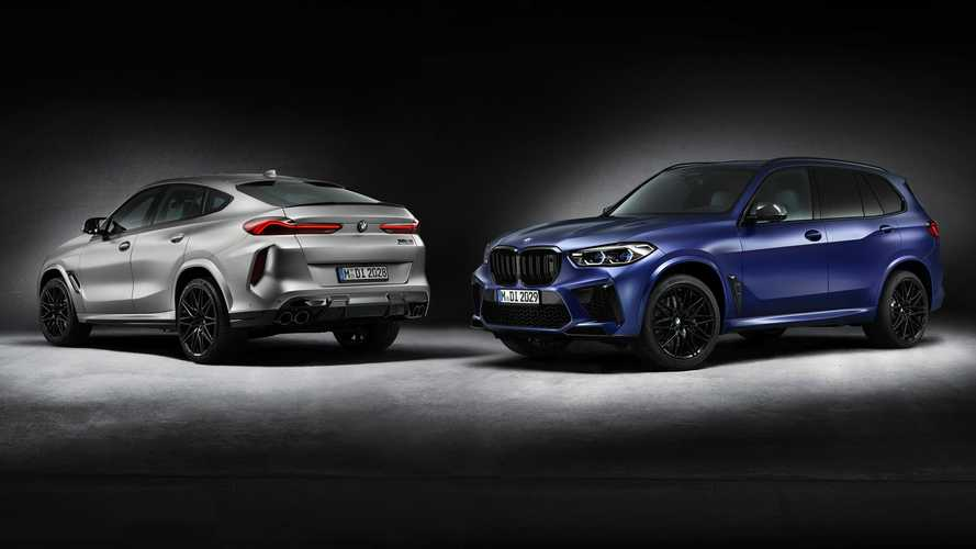 BMW X5 M Competition And X6 M Competition Get Belated First Edition