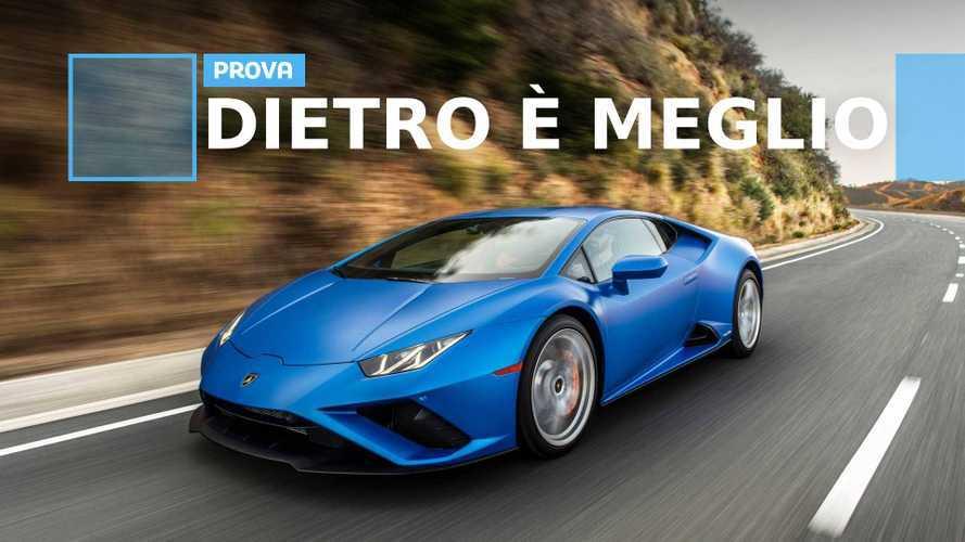 Lamborghini Huracan Evo RWD, un passo indietro e due avanti