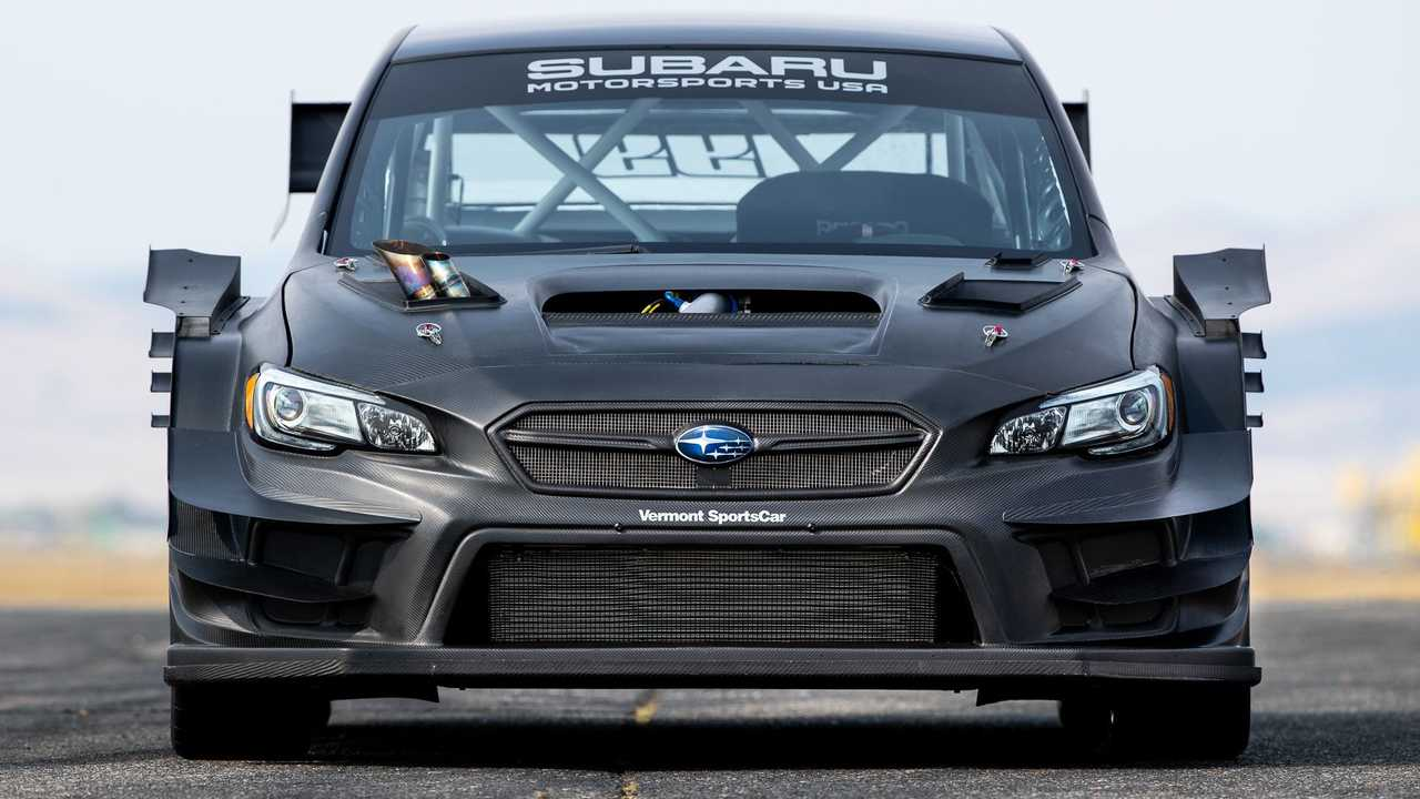 Travis Pastrana Gymkhana Subaru WRX STI Nose