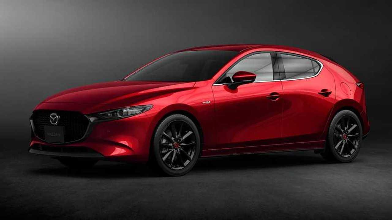 Mazda3 2021 actualización en Japón